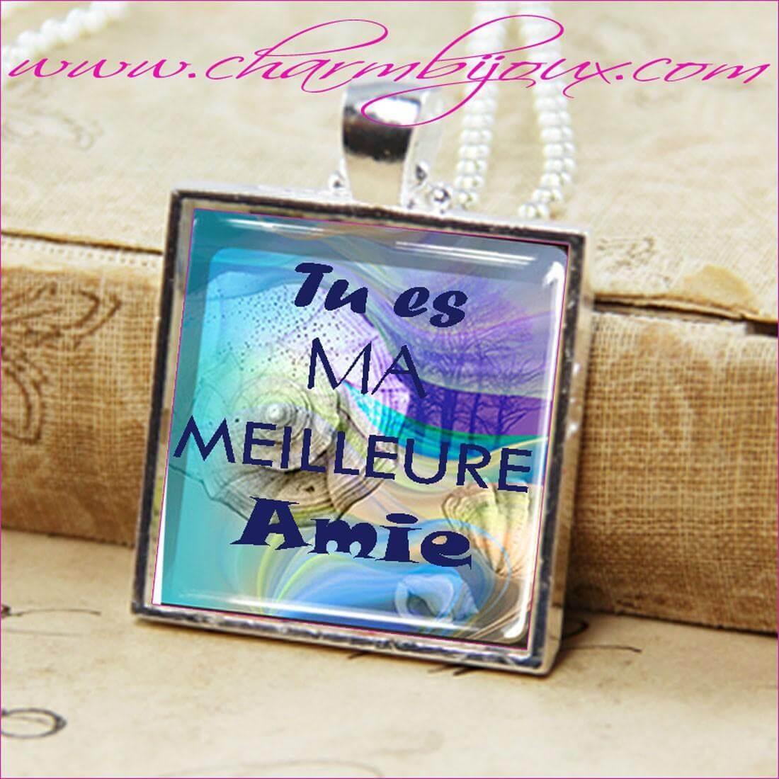 Image Pour Ma Meilleure Amie pour offrez à votre meilleure amie ce joli collier avec une jolie inscription